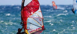 Athens windsurfing and kitesurfing