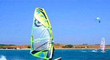 Lemnos windsurfing and kitesurfing