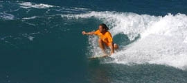 Surf lessons in Tinos