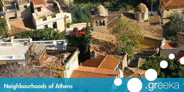 Athens neighbourhoods