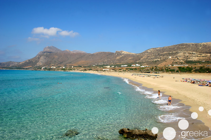 Chania Falassarna Beach