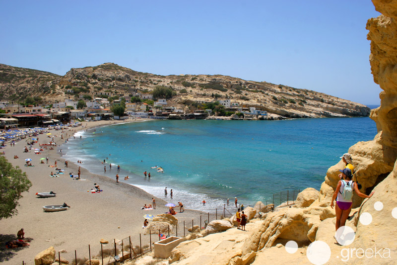 Heraklion Matala Beach