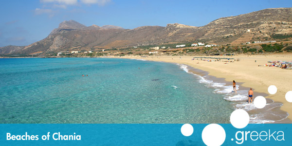 Best 40 Beaches In Chania Crete Island Greeka Com