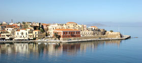View of Chania Town