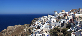 Day cruise to Santorini island