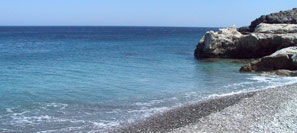 Lovely beach of Agia Anna