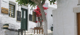 Picturesque capital of Amorgos