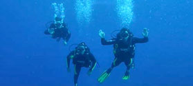 Enjoy scuba diving in Amorgos