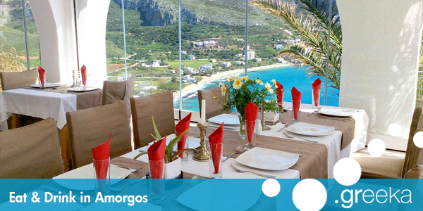 Eat and Drink in Amorgos