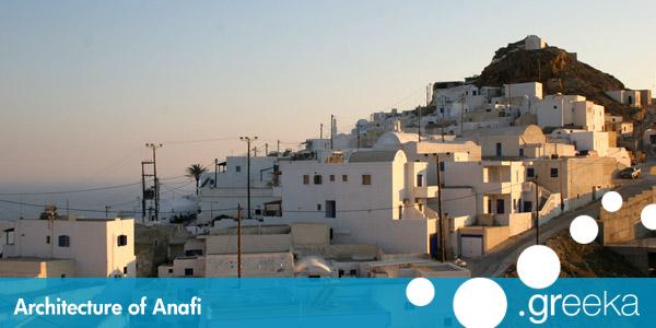 Architecture Of Anafi Island Greeka Com