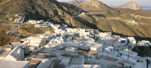 Chora, the only village