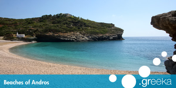 Best 22 Beaches in Andros island Greekacom