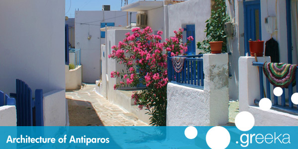Antiparos architecture