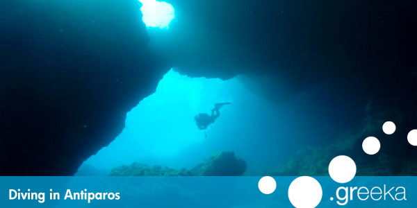 Antiparos diving