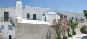 White church in Chora