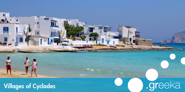 Cyclades villages