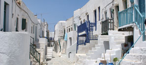 Kastro quarter in Chora