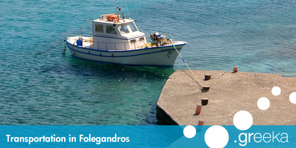 Folegandros transportation
