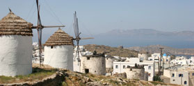 Windmills in Chora