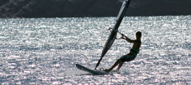 Windsurfing in Ios
