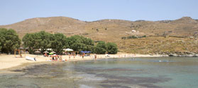 Popular beach of Koundouros