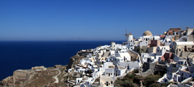 Holiday to Milos and Santorini