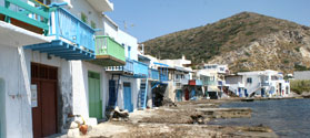 Fishing village of Klima