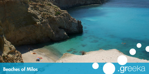 Best 41 Beaches In Milos Island Greeka Com