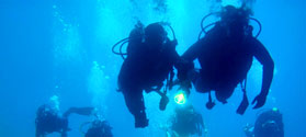 Try scuba diving in Naxos