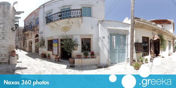 360 picture of Naxos, Greece