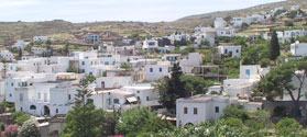 Picturesque village of Lefkes