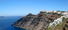Discover Santorini on a bus tour