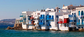Holiday to Mykonos and Santorini
