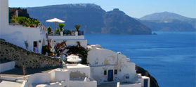 Discover Santorini villages