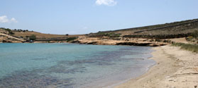 Secluded beach of Almyros