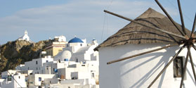 Windmill in Chora