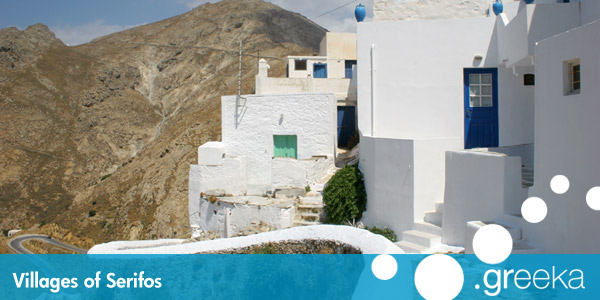 Serifos villages