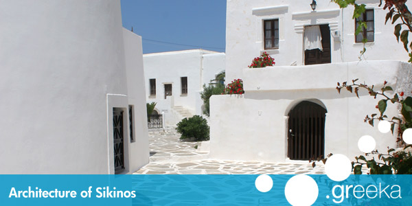 Sikinos architecture