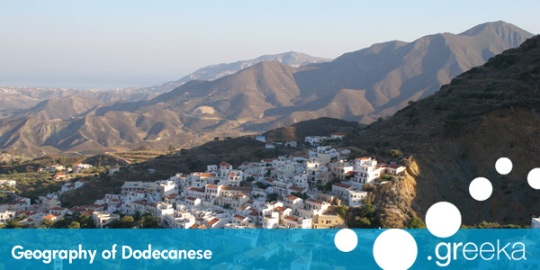 Dodecanese Geography