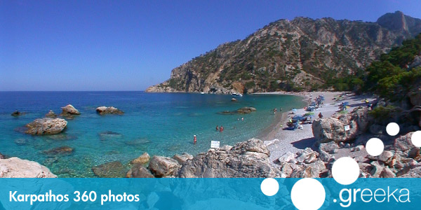 360 picture of Karpathos, Greece