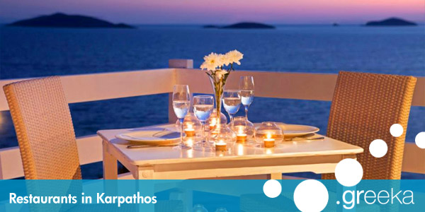 Karpathos restaurants