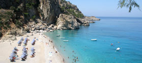 Fabulous beach of Kyra Panagia