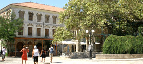 Lovely square in Kos Town