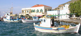 Seaside village of Agia Marina