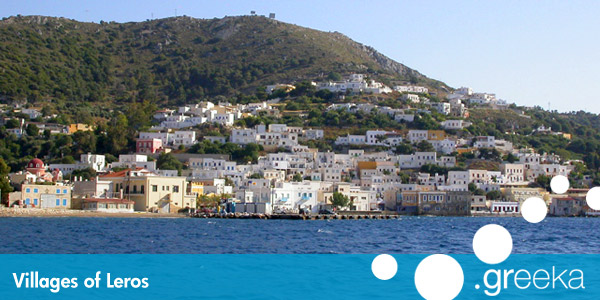 Discover 5 villages in Leros island Greekacom