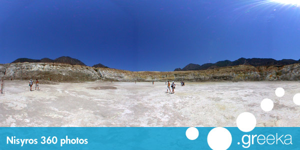 360 picture of Nisyros, Greece