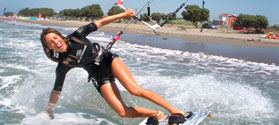 Windsurfing and kitesurfing