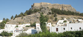 Picturesque village of Lindos