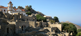 Abandoned village of Mikro Chorio