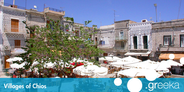 Discover 14 villages in Chios island Greekacom